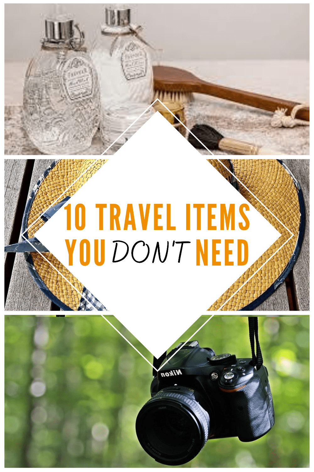 10 Travel Items You Don't Need