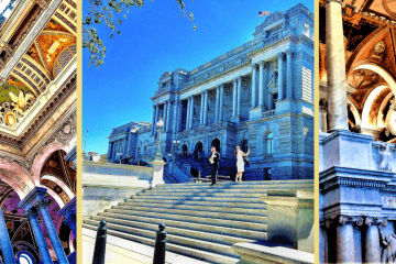 How To See The Library of Congress Thomas Jefferson Building 1