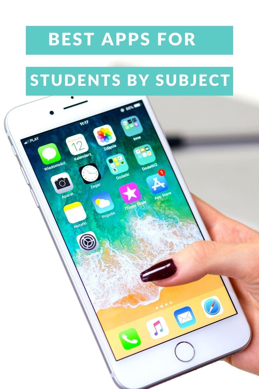 Best Apps For Students By Subject