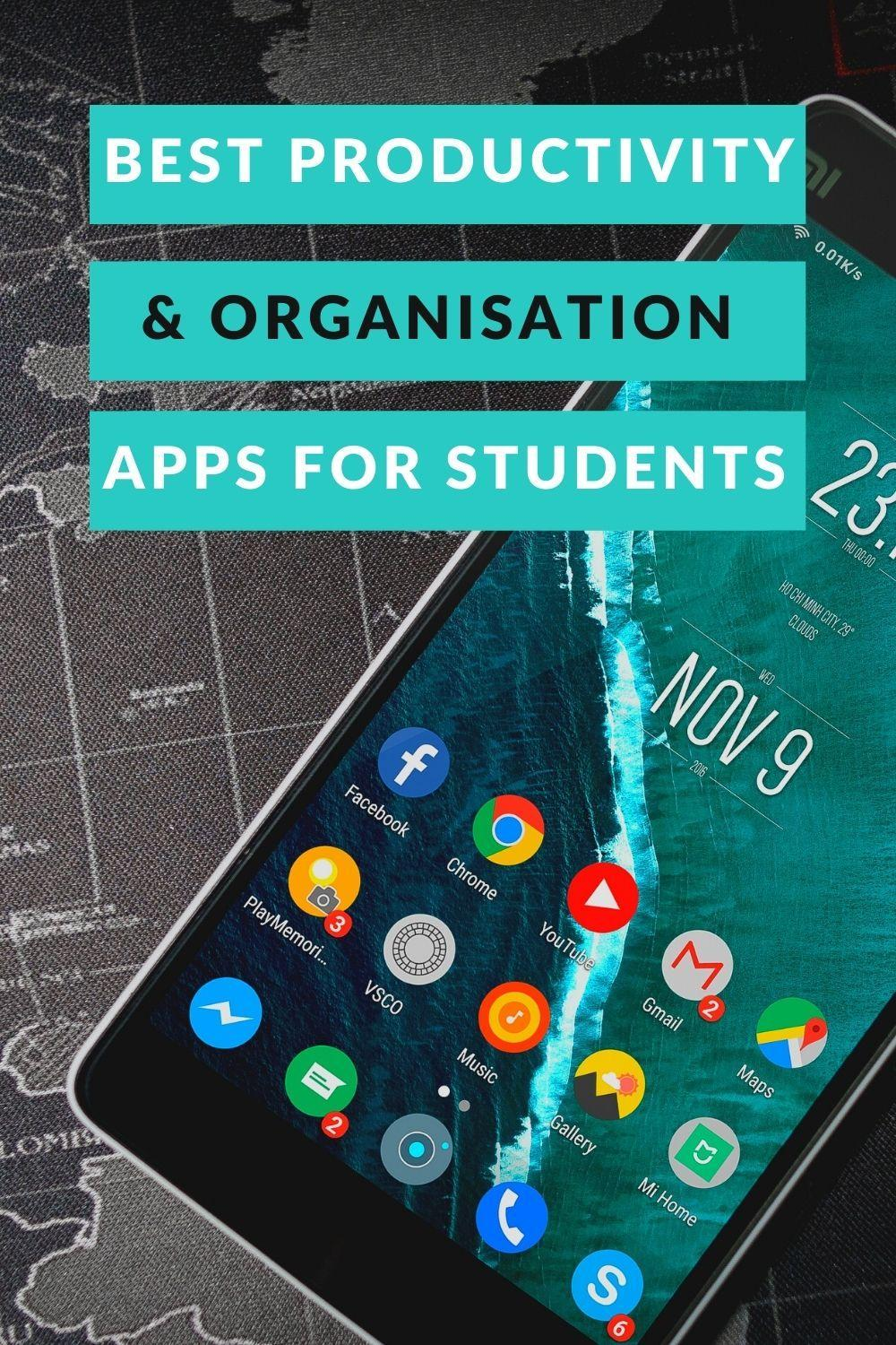 Best Productivity and Organisation Apps for Students