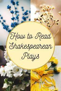 How to Read Shakespearean Plays
