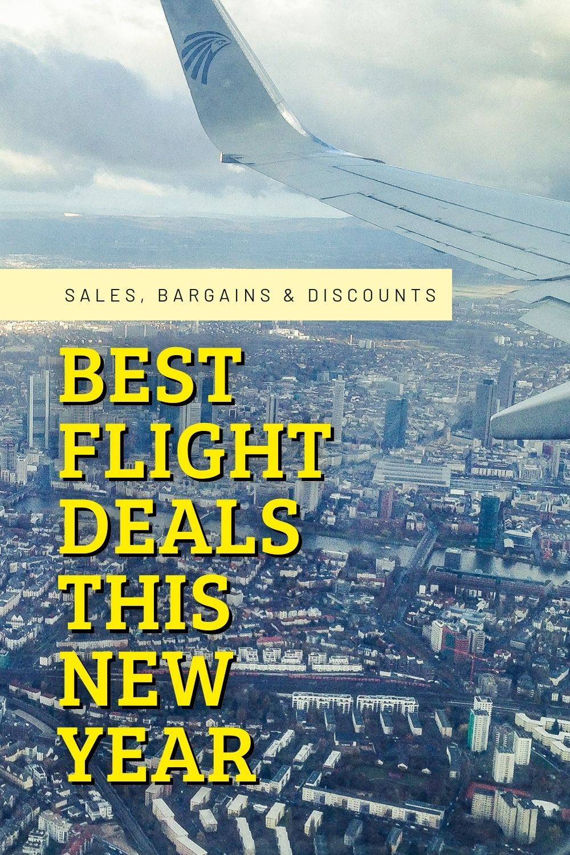 Best Flight Deals This New Year